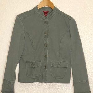 Sundance Fitted Sage Green Jacket Button Front